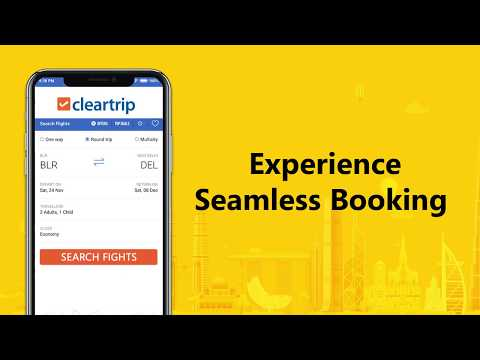 Cleartrip - Clear Way to Travel.