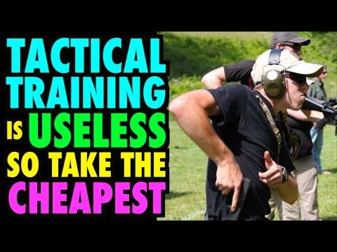 Tactical Training is Useless for CCW (Take the Cheapest Class)