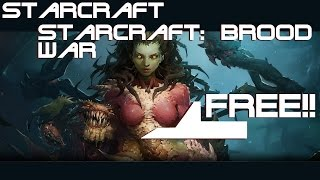 Blizzard Has Released Starcraft and SC: Brood War (Sci-Fi RTS Game) as Freeware!!