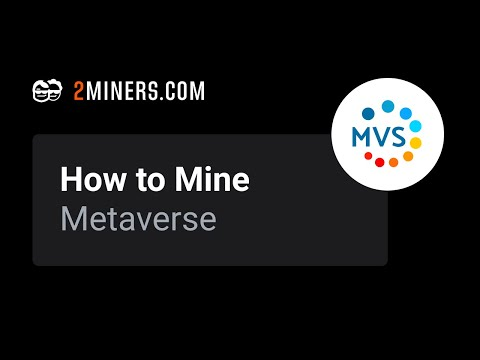 How To Mine Metaverse - ETP Mining Pool Setup