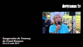 Inauguration du Tram de Besancon episode2