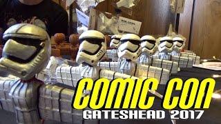 Comic Con Gateshead 2017 (Random Stalls, Net00n Creative, Nathan Robinson & A Walk Into The Woods))