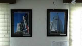 西武池袋線大泉学園駅からアートヴィレッヂへの道順と、事務所内の風景...