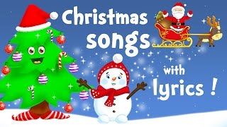 We Wish You a Merry Christmas (and all the best Christmas songs for kids with lyrics!)
