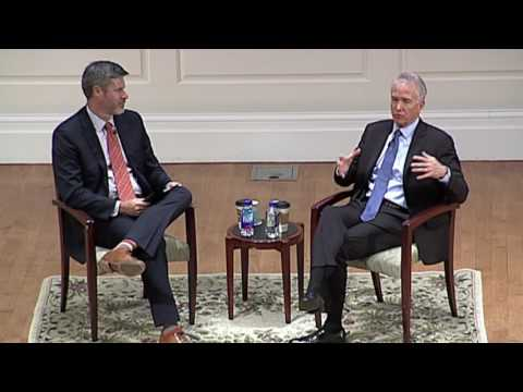 "Leadership in Global Consulting: A Darden ""Fireside Chat"" with Deloitte's Jim Moffatt"