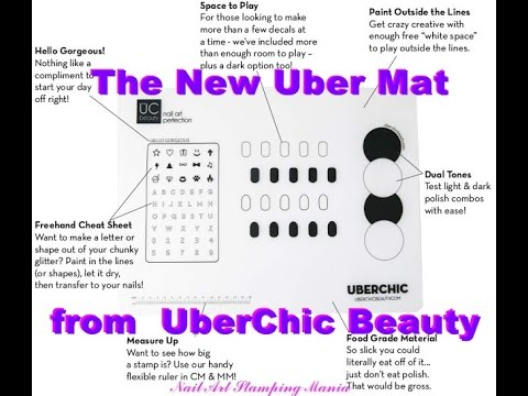 New Uber Mat from UberChic Beauty - Swatches and Review
