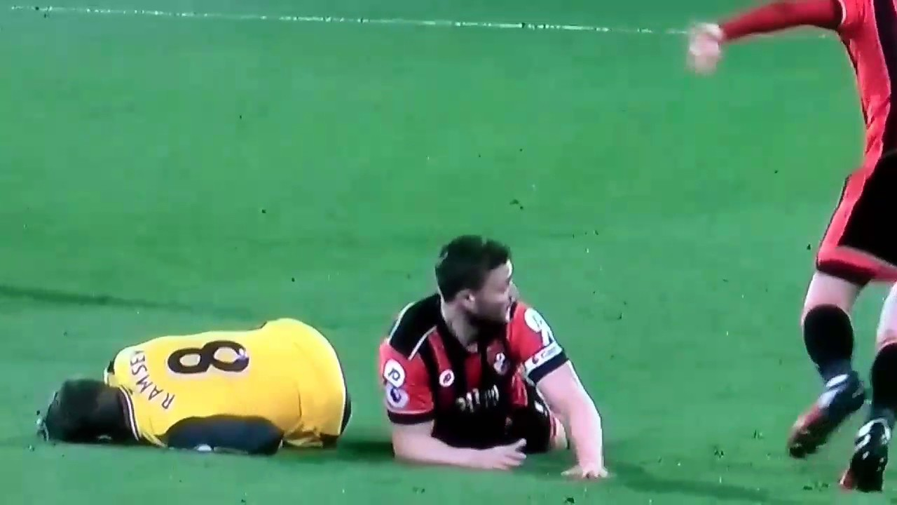 Download Bournemouth vs Arsenal Fight/Francis Red Card