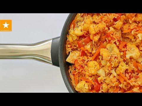 Рис с овощами от Мармеладной Лисицы. Вегетарианский плов универсальный рецепт. RICE WITH VEGETABLES