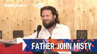 FATHER JOHN MISTY FRF'17 DAY1 INTERVIEW