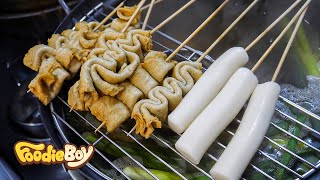 Fish Cake and Rice Cake / Korean Street Food / 87 Tteok-Bokki & Dak Bal, Busan Korea