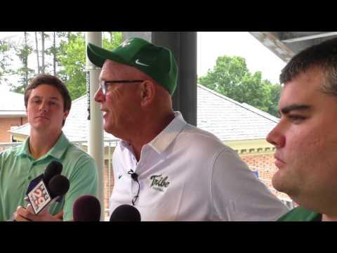 2017 Tribe Football: Media Day with Head Coach Jimmye Laycock