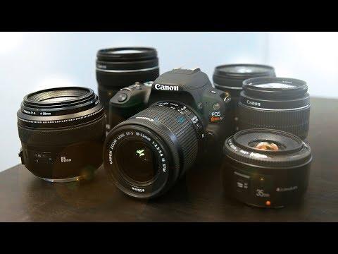 Best Cheap Lenses For The Canon SL2 (200D)