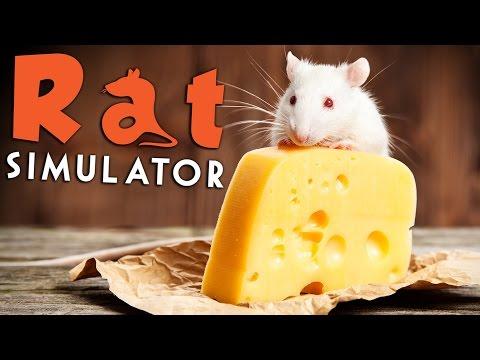 Rat Simulator - Eat Cheese, Infect People? - Rat Simulator Gameplay Highlights