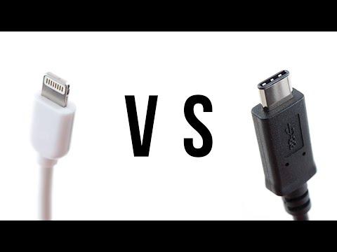 USB Type-C vs Apple's Lightning Connector