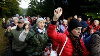 Historic: Millions gather to pray the Rosary in Poland HD