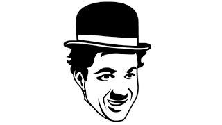 How to Draw a Charlie Chaplin / Как нарисовать Чарли Чаплина