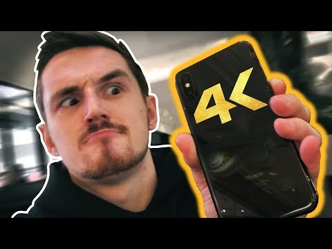 The 4K iPhone X Experiment!