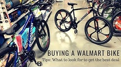 Buying a Walmart Bike - What to look for to get the best deal