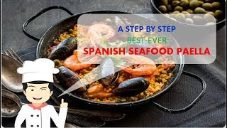 Best-Ever SPANISH SEAFOOD PAELLA