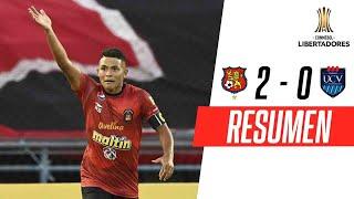 ¡PASÓ A FASE 2! | Caracas 2-0 U. César Vallejo | RESUMEN