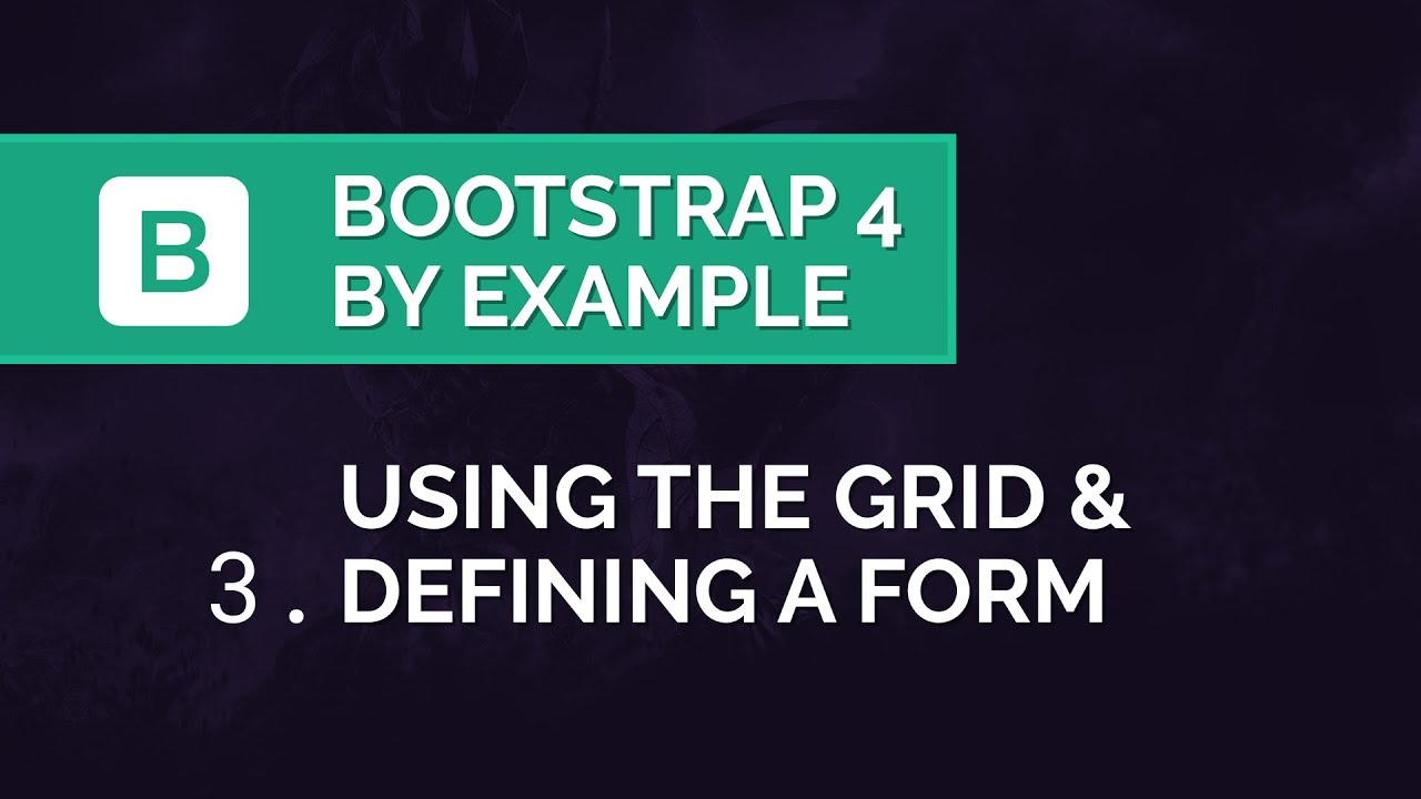 Bootstrap 4 Grid Tutorial