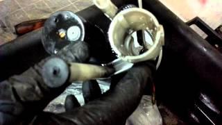 Démontage Pompe à Essence Yamaha Xmax Phase 01 (2ème Partie)