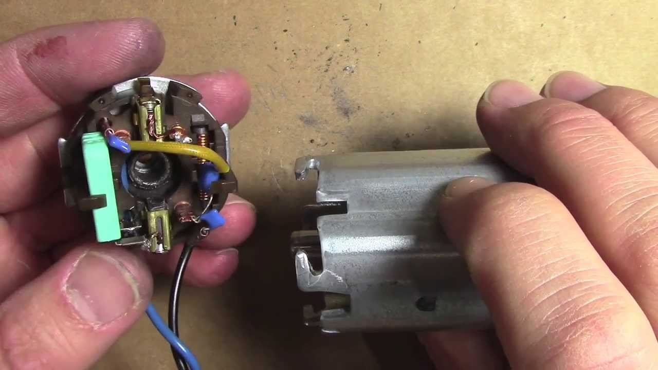 How To Repair Fix An Electric Motor Replace Carbon