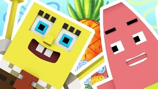 Minecraft SPONGEBOB MODDED HIDE N