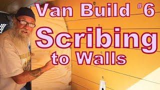 Van Build Uprights Scribing Walls