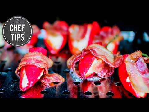 Smoked Bacon Jalapeno Poppers
