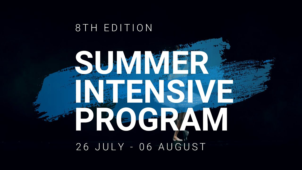 Brussels International Ballet - Summer Intensive Program 2021 Promotion