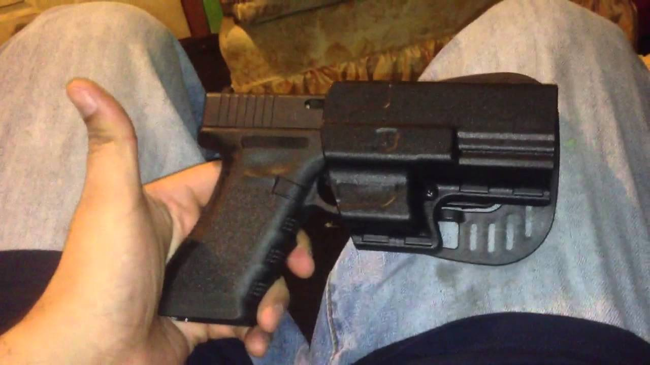 Quick review of Uncle Mikes IRT holster for Glock