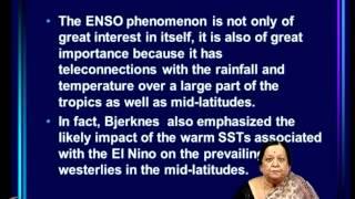 Mod-11 Lec-27 El Nino Southern Oscillation (ENSO) Part 4
