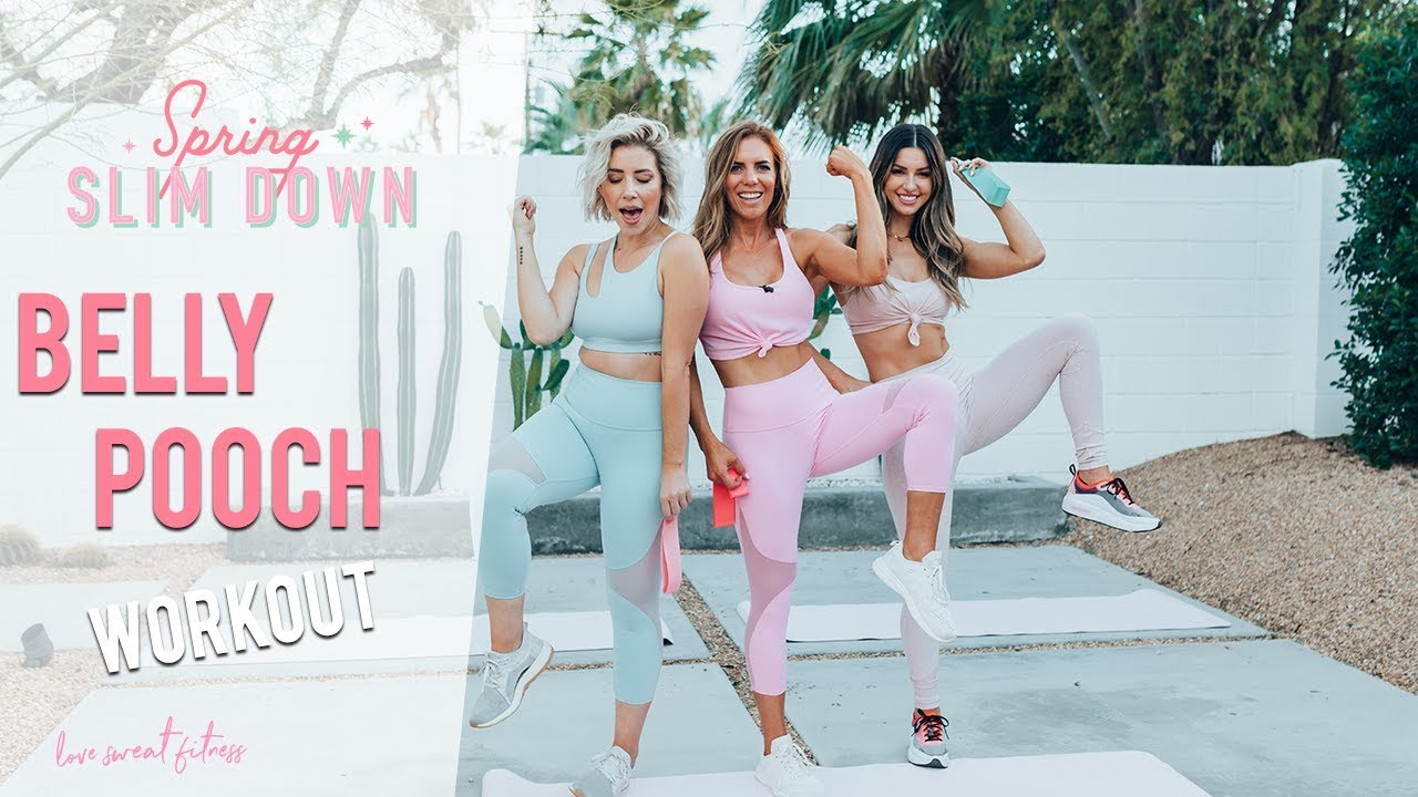 How To Get Rid Of Belly Pooch Lower Abs Workout