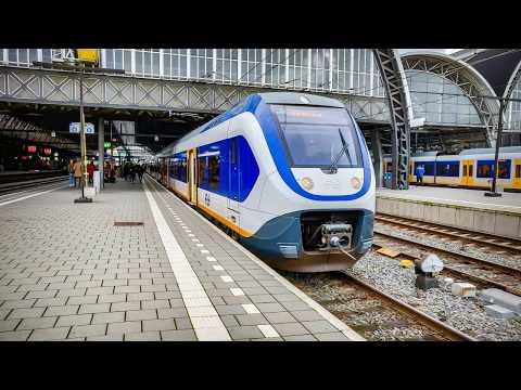 4K Cab Ride NL Uitgeest - Amsterdam - Gouda - Rotterdam / SPR 4047 / 05-11-2019