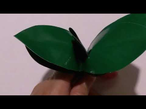 Making artificial orchids tree