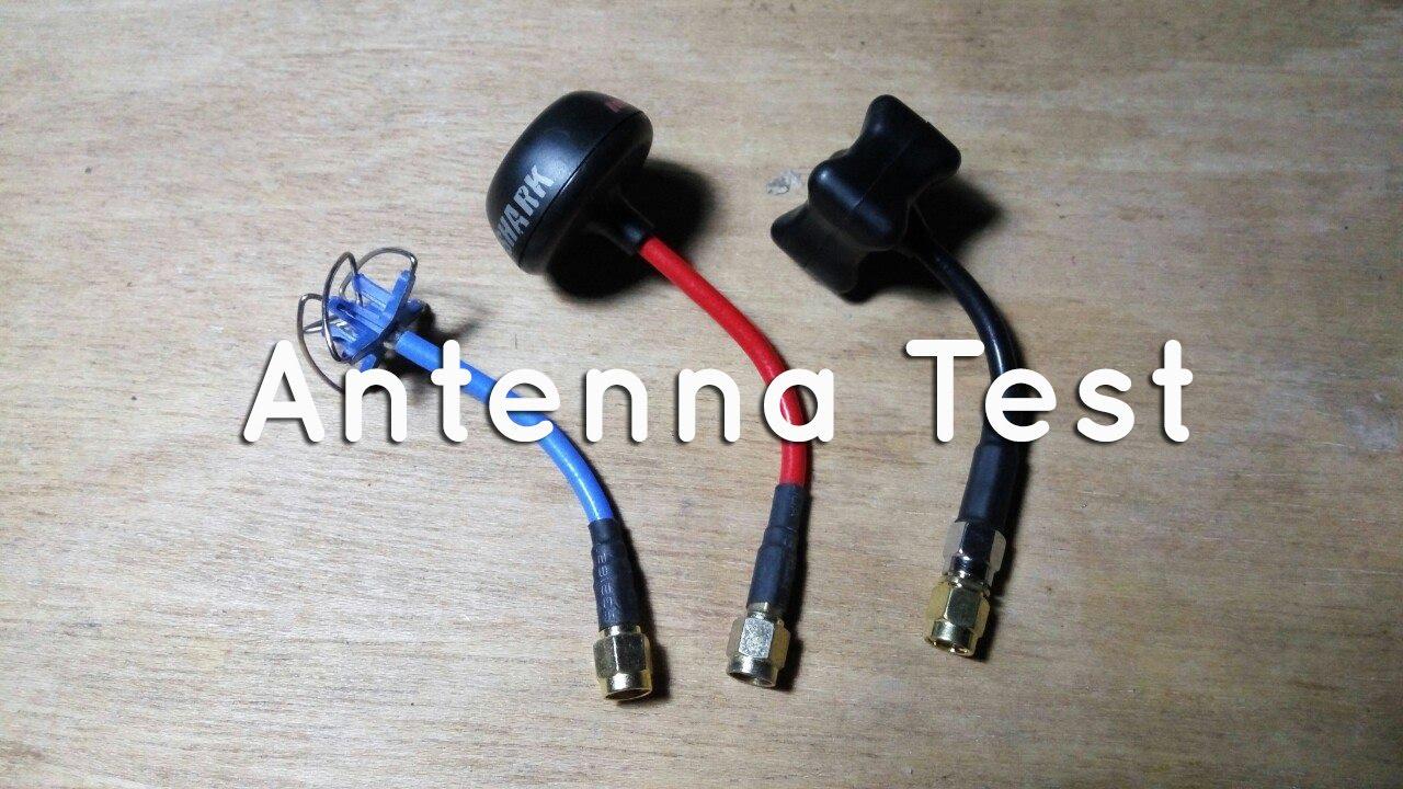 tbs triumph 5.8 antenna test - youtube