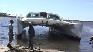 Capt. Kirk's 50' Catamaran Build Launch