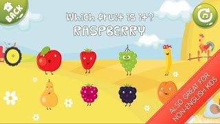 Learn Fruits Name - Set of Educational Games for Kids