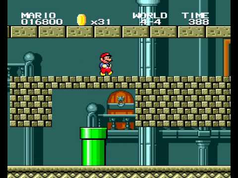 Super Mario Bros. 2 Sega Genesis (SMB1 port)