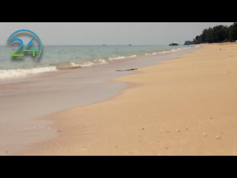 "11 Hrs. ""Real"" Beach Waves - Gentle Waves on Sandy Beach Video - Pure Nature Sound and Video"