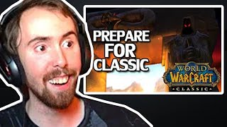 Asmongold Reacts To WoW Classic Launch Guide & Preparation - MadSeasonShow