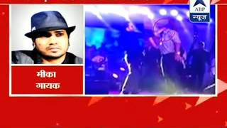 Mika Singh defends himself in slapping incident