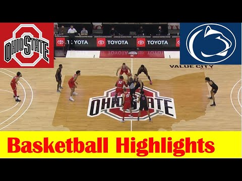 Penn State vs Ohio State Basketball Game Highlights 1 27 2021