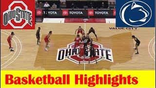 Penn State vs Ohio State Basketball Game Highlights 1 27 2021