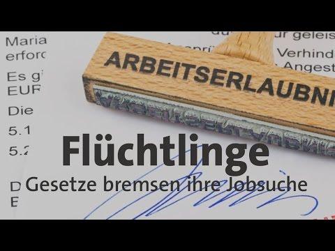 #kurzerklärt: Flüchtlinge in Deutschland - diese Gesetze machen ihnen die Jobsuche schwer
