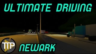 ROBLOX Ultimate Driving: Newark #2 (being a EMT/Fire Fighter)