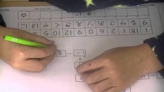 鶴田式算数教室 年中さん、初めてのかけ算プリントです。勿論九九など一...