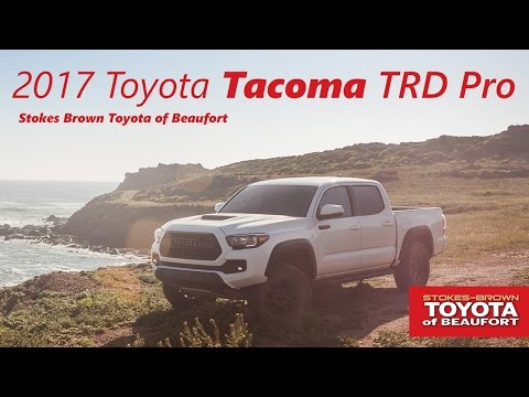 Perfect 2017 Toyota Tacoma TRD Pro Double Cab At Stokes Brown Toyota Of Beaufort
