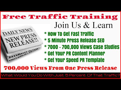 Press Release 700k Views Case Study | Free Training | Fast PR Template Gift